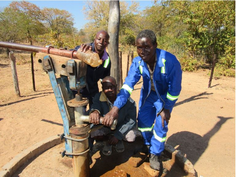 HCCL Engineering department completes borehole resuscitation project in Zvabo